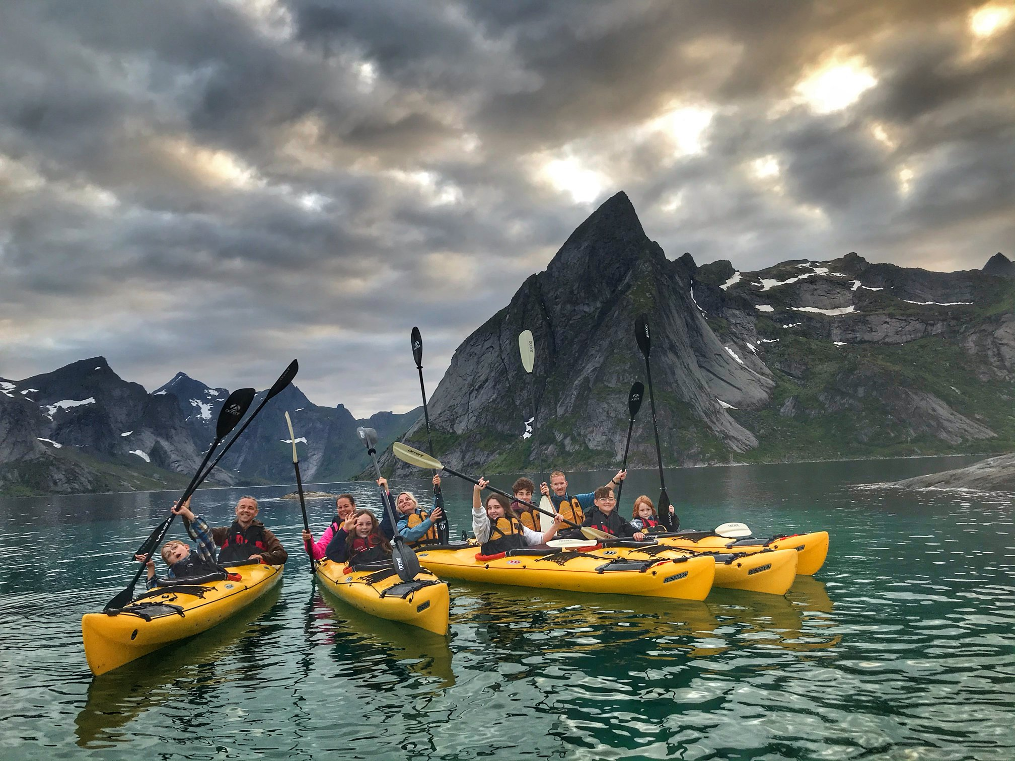 Amazing activity in the Lofoten Nature